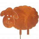 Metal plug sheep